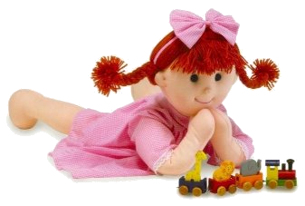 Hannah rag doll. Image © Orange Tree Toys